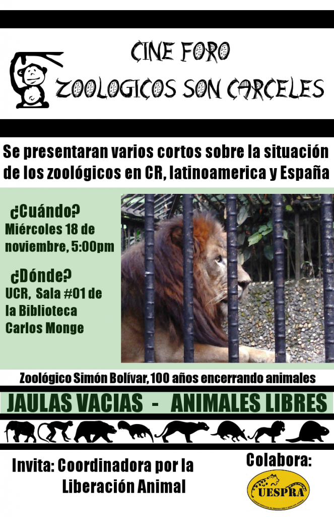 cine foro zoologicos son carceles UCR 01 color 02